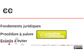 Copie de bonne version Droit Multimédia: Licences Creative Commons