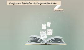 Programa Modular de Emprendimiento