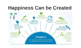 Happiness Can be Created