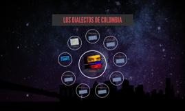 LOS DIALECTOS DE COLOMBIA