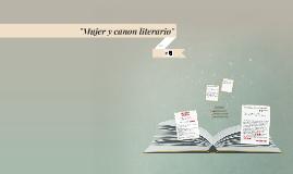 """""""Mujer y canon literario"""""""