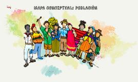 MAPA CONCEPTUAL: POBLACIÓN