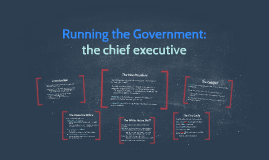 Running the Governement:
