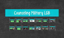 Counseling Military LGB