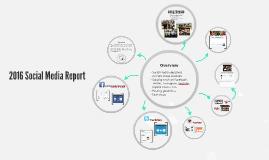 2015 Social Media Report