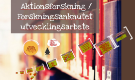 Copy of Aktionsforskning
