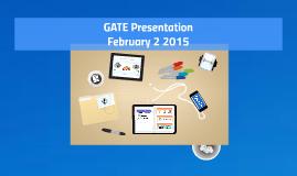 FUSD GATE presentation