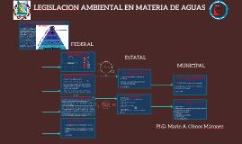LEGISLACION EN MATERIA DE AGUAS RESIDUALES