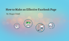 What Makes an Effective Facebook Page