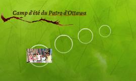 Camp d'été du Patro d'Ottawa de 5 à 15 ans