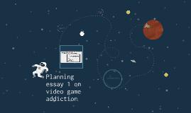 Planning essay 1