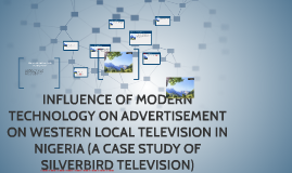 INFLUENCE OF MODERNTECHNOLOGY ON WESTERN LOCAL