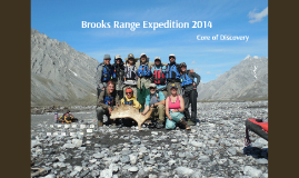 Brooks Range Expedition 2014