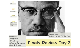 Finals Review Day 2