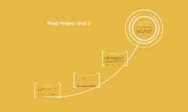 Final Project Unit 3