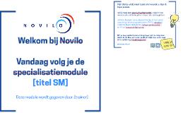 Welkom bij Novilo (SM)