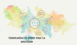 Tecnologías de apoyo para la inclusión