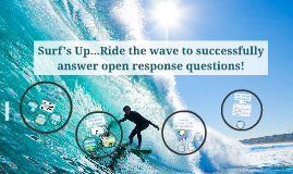How to answer open response questions