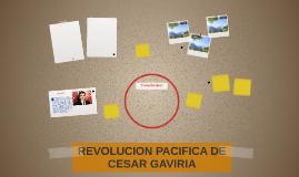 REVOLUCION PACIFICA DE CESAR GAVIRIA