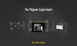 The Milgram Experiment