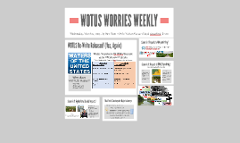 WOTUS WORRIES WEEKLY
