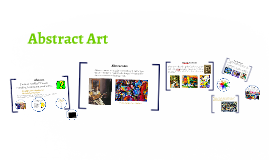 Copy of Abstract Art for Upper Elementary & Middle School