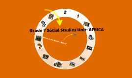 Africa: Lesson 1