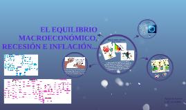 EL EQUILIBRIO MACROECONÓMICO, RECESIÓN E INFLACIÓN...