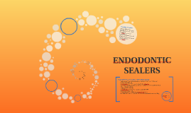 Copy of ENDODONTIC SEALERS