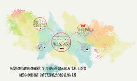 NEGOCIACIONES Y DIPLOMACIA EN LOS NEGOCIOS INTERNACIONALES