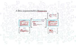 A Ética argumentativa Hoppeana