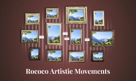 Rococo Atristic Movements
