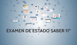 EXAMEN DE ESTADO SABER 11º