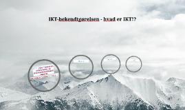 IKT-bekendtgørelse fra aftale til gevinst