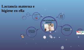 Lactancia materna e higiene en ella
