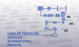 LINEA DE TIEMPO DEL DERECHO INTERNACIONAL PRIVADO