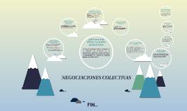 NEGOCIONACIONES COLECTIVAS