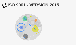 ISO 9001 - VERSION 2015