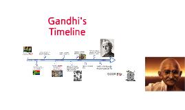 Copy of Gandhi's Timeline by Fliss Fagan on Prezi