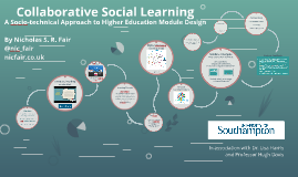 Collaborative Social Learning