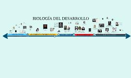Biología del desarrollo linea de tiempo