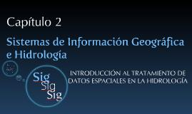 SIG e hidrología