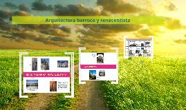 Arquitectura barroco y renacentista