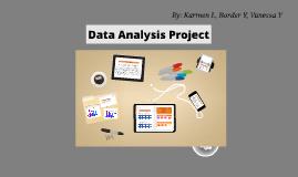 Math 9 - Data Analysis Project