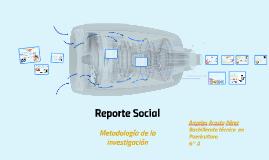 Reporte Social
