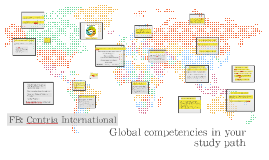 Global competencies in your study path 2016
