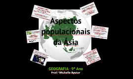 Aspectos populacionais da Ásia