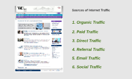 Sources of Internet Traffic