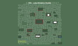 TDA - Listas Enlazadas Y Listas Dobles - Lenguaje C