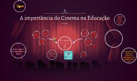 A importância do Cinema na Educação